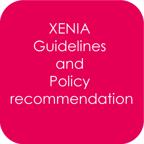 XENIA guidelines and Policy recommendation